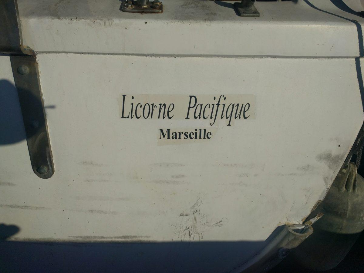 Trois semaines à bord de Licorne Pacifique