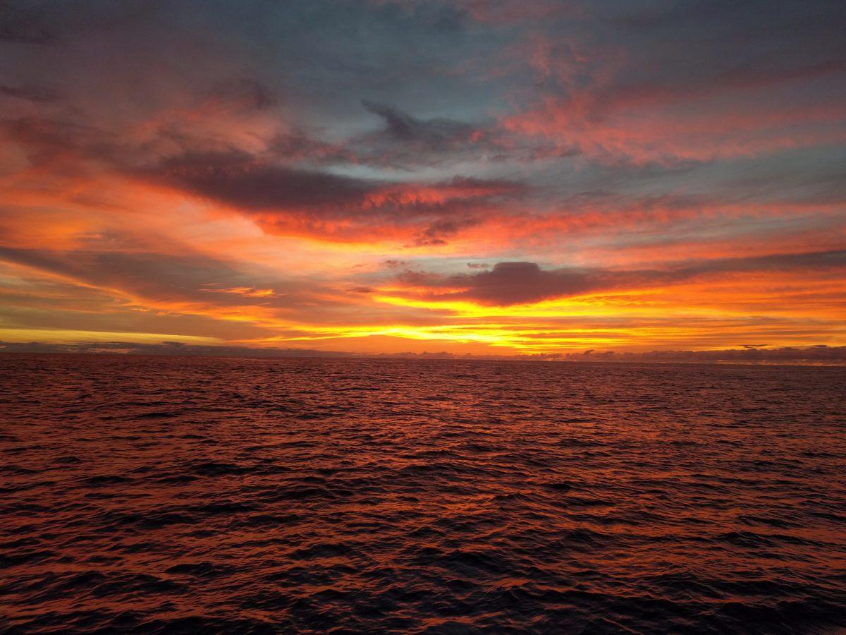 Imagine: Traversée de l'Atlantique.