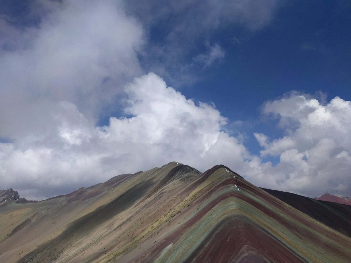 Pérou: Rainbow mountain